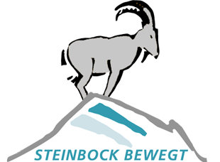 Steinbock bewegt